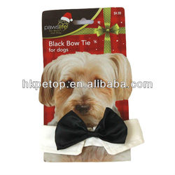 Stock Canvas Dog Bow tie Pet Accessories