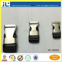 Half metal half Plastic Buckle For Dog/cat Pet Collar,Luggage Accessories,15MM/20MM/25MM QW003