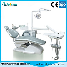 India market Basic dental chairs, cheap price dental unit with halogen light