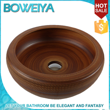 China Sanitary Ware Hand Painted Ceramic Bathroom Sink