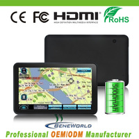 HD Digital TFT Touch Screen Android 4.4 Car GPS Navigator with Screen Mirroring
