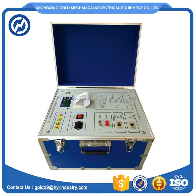GDGS Tan Delta Meter / Automatic Power Factor Meter
