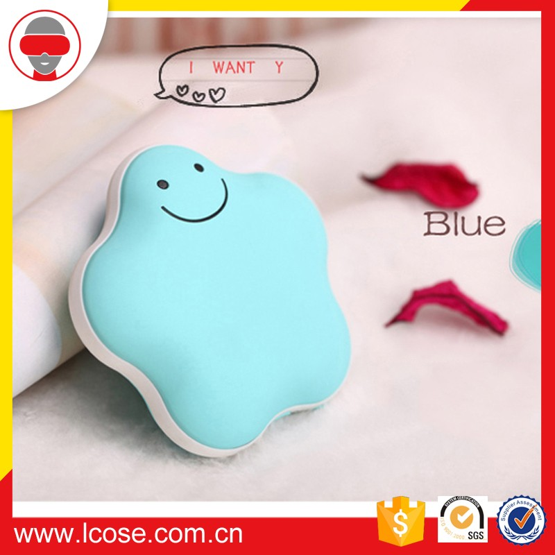 Lucky star hand warmer with Power Bank 3600mA Charging treasure