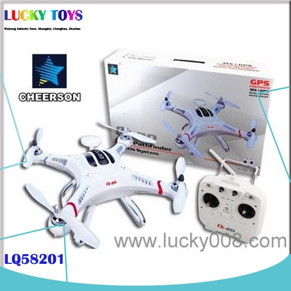 2015 new products quad copter cx-20 auto pathfinder with GPS 4CH 6AXIS airplane rc drone with camera FPV professional rc toy