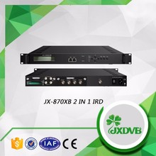 Satellite IRD Multiplexer/Satellite TV Channels Decoder with One CAM