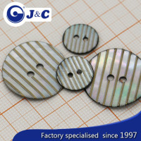 Manufacture Agoya shell button with laser