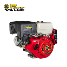 Gasoline Motor Engine, Recoil start 15HP 420cc air-cooled TD190F gasoline engine power