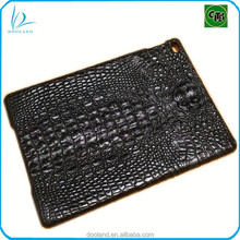 Exotic genuine crocodile leather case for iPad air
