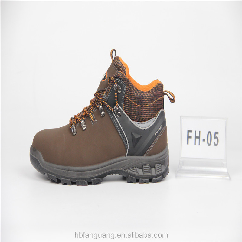 Genuine Leather Upper comfortable safety shoes