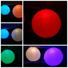 led party decoration inflatable led lighting ball