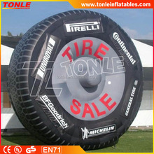 Custom inflatable tire, inflatable tire replica for sale