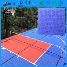 Non cracking non bulking non-slip multi-purpose sports court flooring used indoor and outdoor direct buy in China