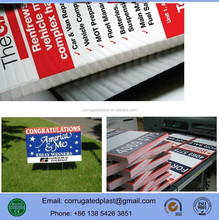 Corrugated Plastic Corflute Signs and Banners