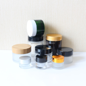 5g 10g 15g 20g 30g 50g 100g cream glass jar for glass cosmetic jar with lid