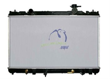 "2012 Hot Sale Aluminum Auto Radiator DPI 2436 for 02-06 CAMRY FOUR CYLINDER 1"" THICK CORE"