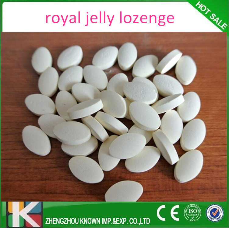 Royal jelly tablets rich contains nutrition value/immune & anti-fatigua effect
