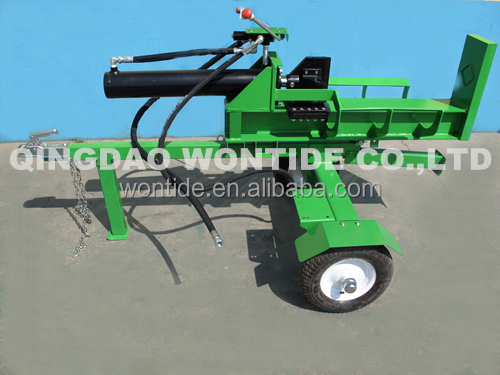 25ton Gas Horizontal and Vertical Automatic Log Splitter for Sale