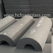 foam(cellular) glass use for pipe insulation