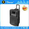 10 inch High power outdoor stage professional trolley speaker