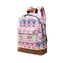 2018 Fashion canvas backpack for 13-35 years old Girl