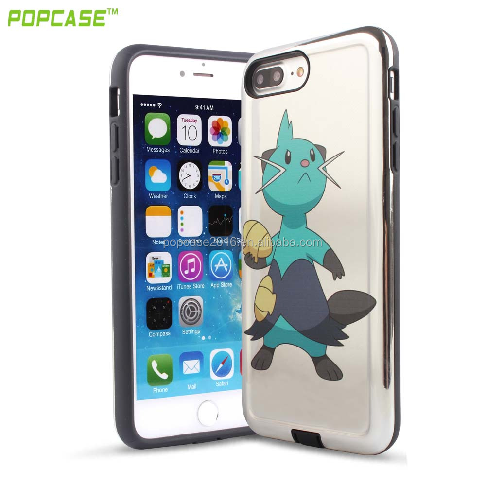 high quality bumper unlocked pokedex smartphones case for apple iphone 7S