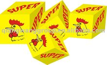 4g*25*80 sesasoning cube/bouillon soup/food spice