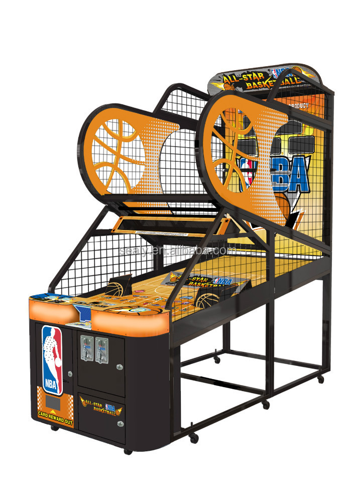 All-Star Basketball New 2015 Hottest Coin-Operated Prize Redemption Youth Sports Arcade Game Machine