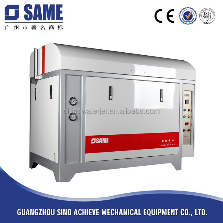 China Waterjet Manufacturer Water Jet Cutting Machine With High Pressure Pump