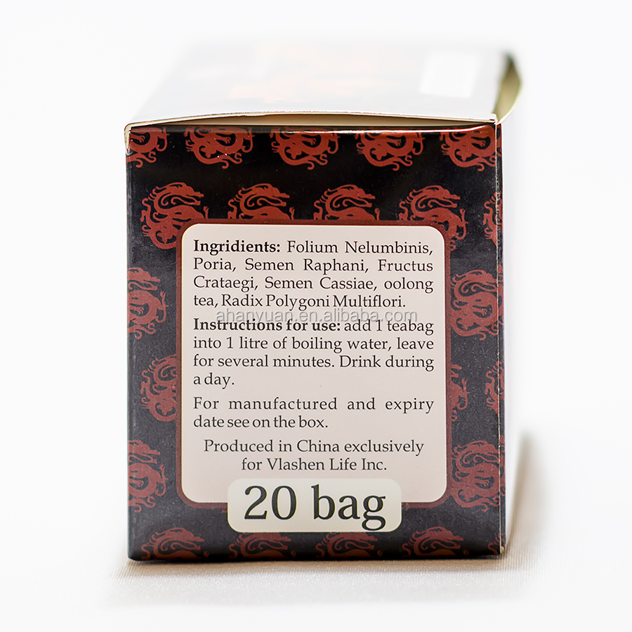 OEM package,Herbal Fat reducing tea,blood fat teabag