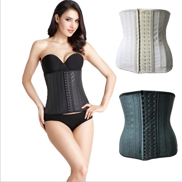 Slimming Body Shaper 25 Steel Boned Underbust Latex Corset Waist Trainer