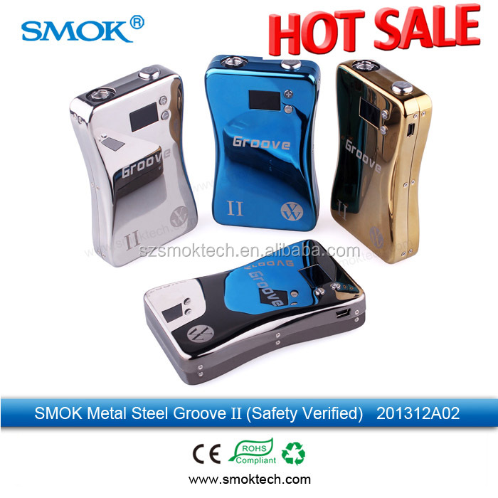 Original Smoktech Groove II best electronic cigarette vv vw vapor box mod