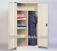Newly Design KD Structure Metal Wardrobe Closet