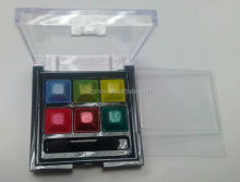 6 color eyeshadow small eyeshadow palette 2014 hot sell eyeshadow new shade