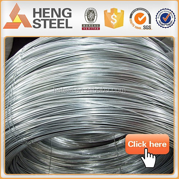 0.67mm Electro galvanized steel wire