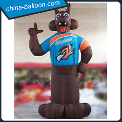 New design differernt inflatable dog decorative promotional inflatable dog for advertising