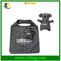 Custom Koala shape doll Australia bear foldable shopping bag