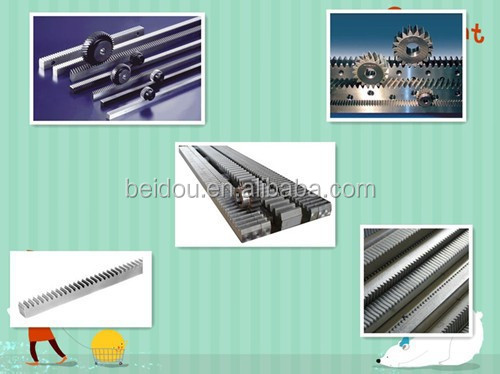 60# Stainless steel spur rack pinion gear design for sale
