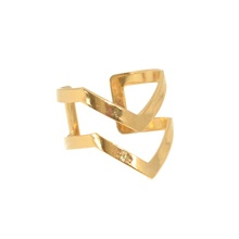 China factory minimalistic 6 gram gold full finger knuckle ring designs for women