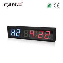 "[GANXIN]2.3"" Wall Mounted Electronic Led Digital Gym Interval Timer Fitness Training Clock"