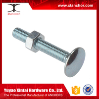 carriage bolts, furniture rings