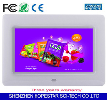 Multi-media LED Display 7 inch digital photo frame