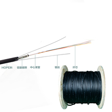 2 / 4 / 6 / 8 / 12 / 16 / 24 Core Multimode Outdoor Armored GYXTW Fiber Optic Cable