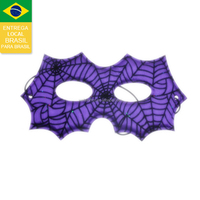 Drop shipping from Brazil 2015 purple party goggles! halloween eye mask for party halloween eye patch