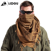 Loogu Shemagh Style Tactical Camo Mesh Military Scarf For Sale