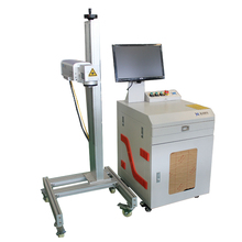 Detached desktop 30w fiber laser marking machine for medical scissors tweeze scalpe