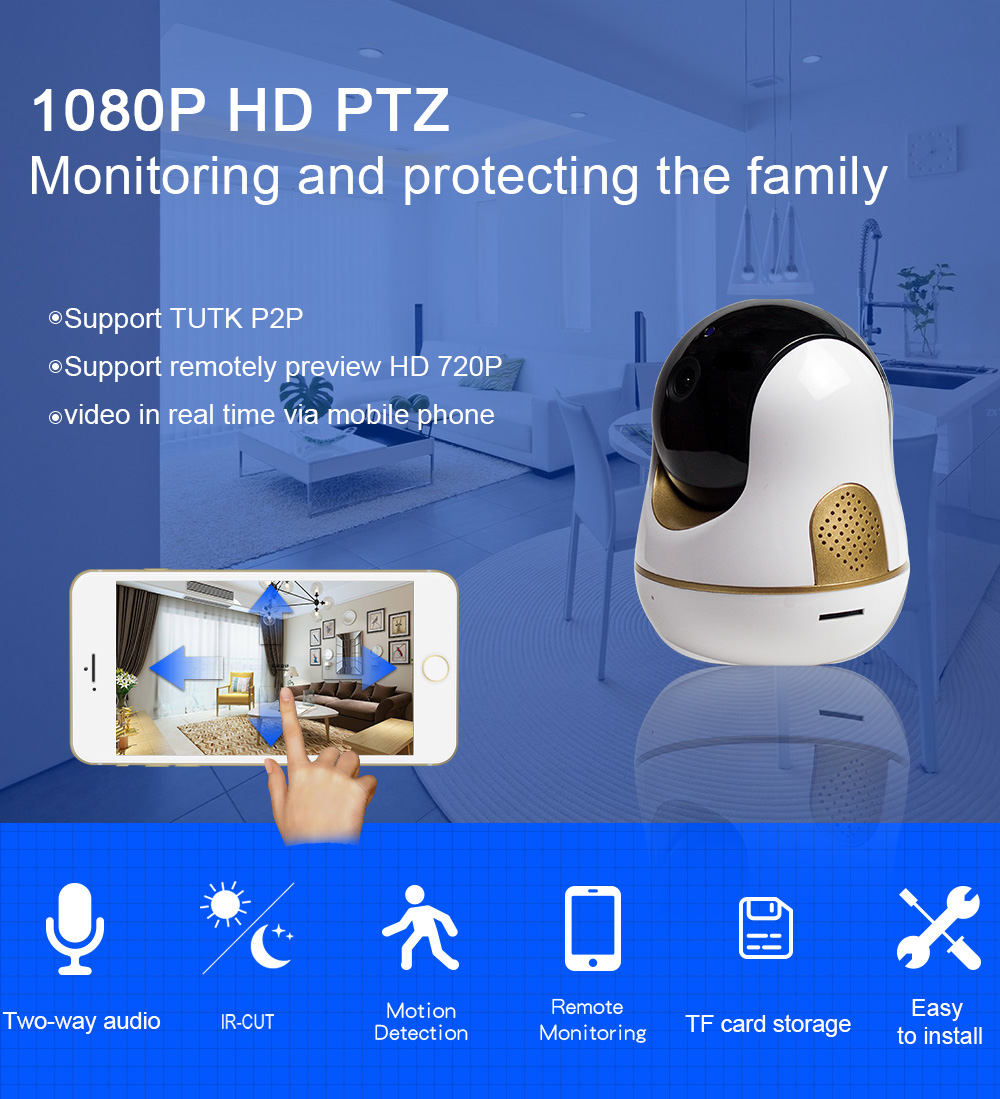 The best price mini style  indoor invisible  pan tilt   two way speaker  home security system CCTV IP speed   dome cameras