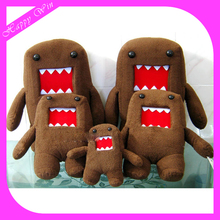 Charming custom plush toy domo kun, domo toys for sale