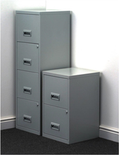 Environmental Electrostastic Powder Coating Four Tier Cabinet with 4 Drawer