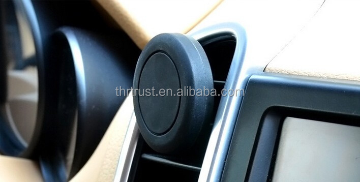 Universal Air Vent Magnetic Car Mount Phone Holder, Magnetic Cell Phone Mount for iphone 6S Plus