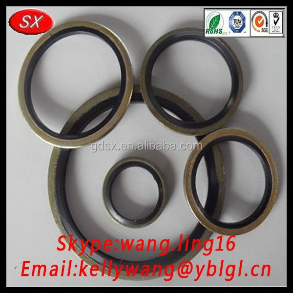 Dongguan factory OEM epdm bonded washer, high pressure washer for car